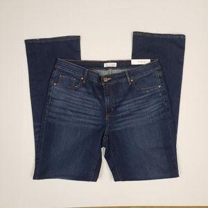 Loft Jeans NEW Size 14 Curvy Bootcut Mid Rise